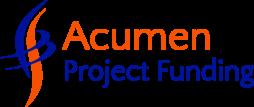 acumen project funding